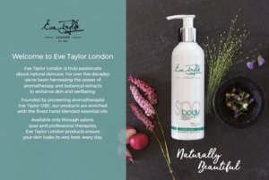 Eve Taylor Product brochure
